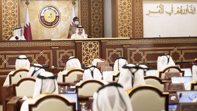 Katar'ın ilk seçilmiş parlamentosunun açılışı yapıldı