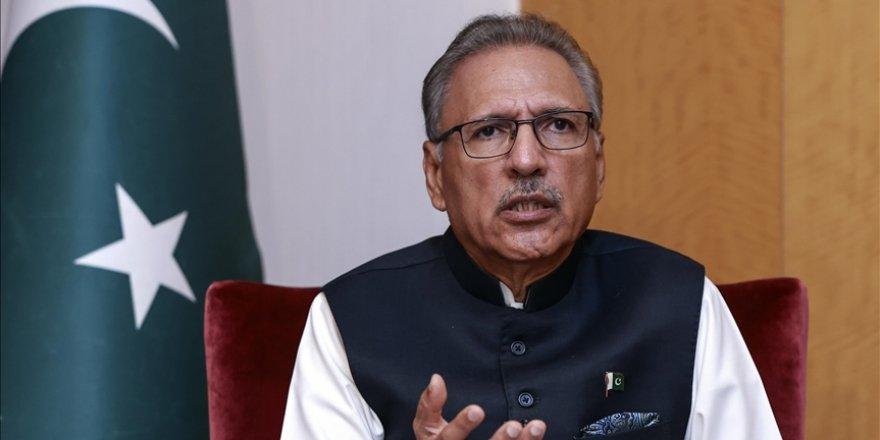 Pakistan Cumhurbaşkanı Alvi: Dünya Keşmir'deki şiddete sırtını döndü