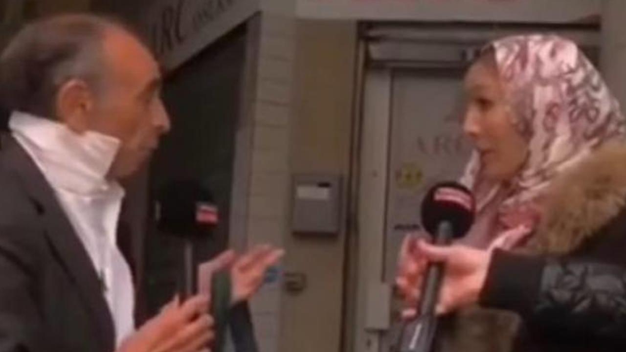 Fransa'da canlı yayındaki başörtüsü kurgusu deşifre oldu