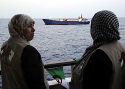 Gemiler Güney Kıbrıs'ta Bekliyor...