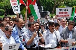 Gazze'ye Destek İçin Adana Ayağa Kalktı