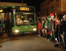 Gazi ve Şehitleri İstanbul'a Geldi