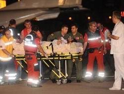 Yaralı Kardeşlerimiz Dün Ankara'ya Getirildi