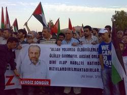 İzmir Şehid Cengiz Songür'ü Bağrına Bastı!