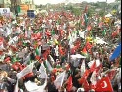 Ankara'da Siyonistlere Protesto Mitingi