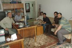 İmani Redçi Enver Aydemir İLKAV'ı Ziyaret Etti