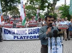Konya'da 144. Başörtüsü Eylemi