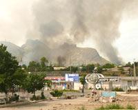 Kırgızistan Alev Alev: 177 Ölü
