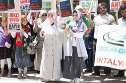 """Antalya: """"And ve Milli Güvenlik Dersleri"""" Dayatmasına Son"""
