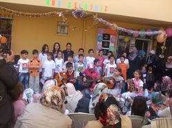 Özgür Çocuk Kulübü Yıl Sonu Etkinliği Yapıldı