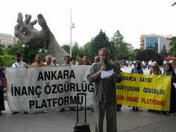 Ankara'da 230. Başörtüsü Eylemi
