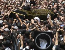 Fadlullah, Yüz Binlerin Omuzlarında Uğurlandı