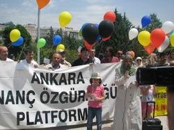 Ankara'da 232. Başörtüsü Eylemi