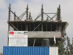 Gazze'de Yıkılan Evler Yeniden Yapılıyor