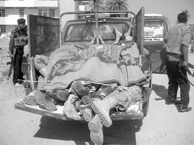 Irakta Hedef Şahva Milisi
