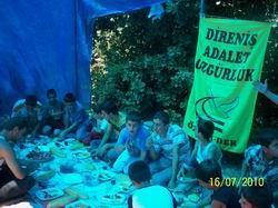 Özgür-Der Tatvan Çocuk Kulübü Yaz Kampı