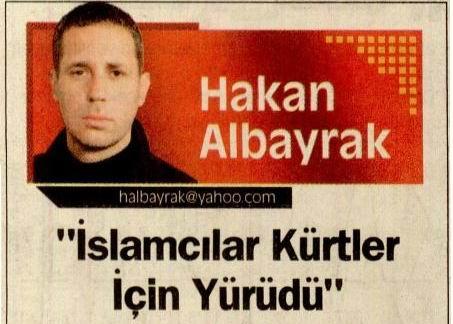 İslamcılar Kürtler İçin Yürüdü