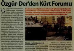 Özgür-Derden Kürt Forumu