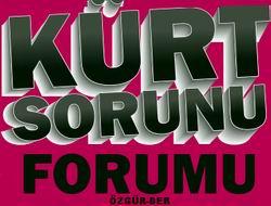 Kürt Sorunu Forumu Sonuç Bildirgesi