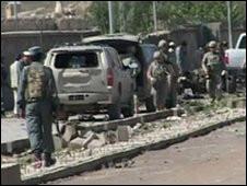 Kabilde İstihbaratçılara Bombalı Saldırı