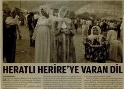 Heratlı Herireye Varan Dil
