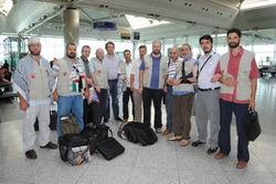 9 Mavi Marmara Gazisi Gazze'ye Gitti