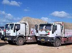 Arap Parlamentosuna Ait Yardım Kafilesi Gazze'de