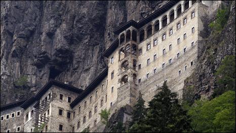Sümela Manastırında 88 Yıl Sonra Ayin