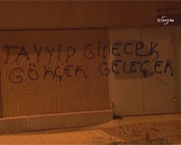 CHPliler, Umudu Duvar Yazılarında Arıyor