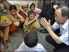 """Ban: """"Pakistandaki Gibi Bir Yıkıma Tanık Olmadım"""""""