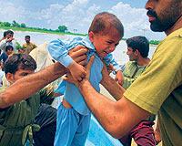 Pakistanda 3,5 Milyon Çocuk Hastalık Riski Altında