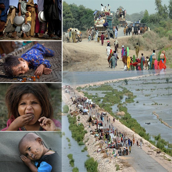 Güney Pakistan da Tehlike Altında