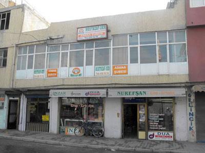 Mustazaf-Der Binası Kurşunlandı