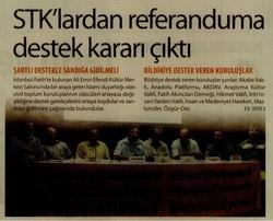 STKlardan Referanduma Destek Kararı Çıktı
