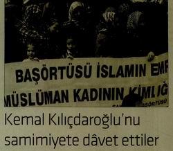 Kemal Kılıçdaroğlunu Samimiyete Davet Ettiler