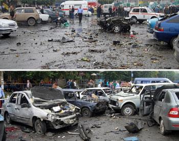 K. Osetya'da Bombalı Saldırı: 16 Ölü, 150 Yaralı