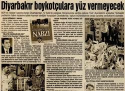 Diyarbakır Boykotçulara Yüz Vermeyecek