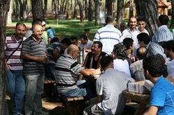 Antalya Özgür-Der'de Bayramlaşma