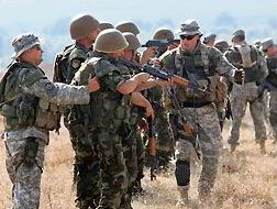 """Amerika, Askerî Vesayet Altında"""