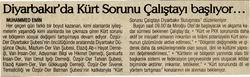 Diyarbakırda Kürt Sorunu Çalıştayı Başlıyor