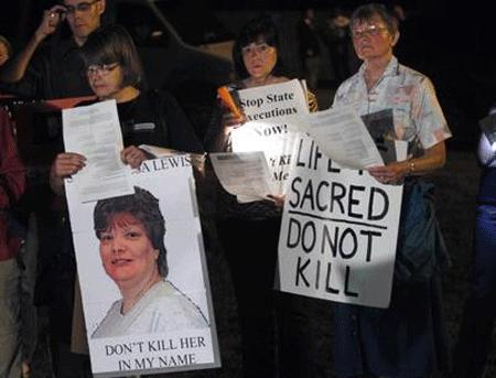 ABD Teresa Lewisi İdam Etti
