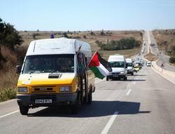 Gazze Konvoyu Türkiye'ye Geldi...
