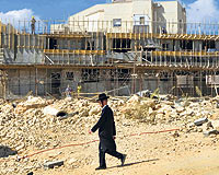 Siyonist İsrail Kudüs'te 1100 Konut İnşa Edecek