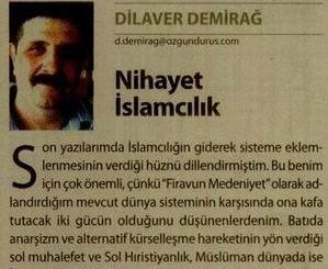 Nihayet İslamcılık