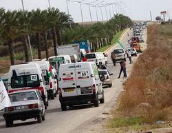 Gazze Konvoyu Türkiye'den Ayrıldı