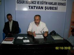"Tatvan'da ""İnsanlığın Umudu İslam"" Semineri"