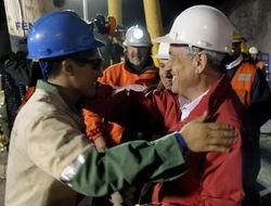 Ve Şilide Madenciler 69 Gün Sonra Çıkarılıyorlar