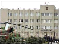 Çeçen Parlamentosuna Saldırı