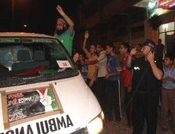 Viva Filistin Konvoyu Gazzede