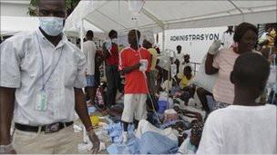 Haitide Kolera Salgını: 135 Ölü